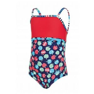 Zoggs Girls Appletizer Classicback Swimsuit